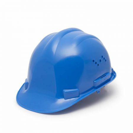 Varnostna čelada - modra