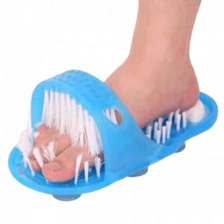 Copat za čiščenje nog, čistilna ščetka za noge, Masažer za čiščenje nog