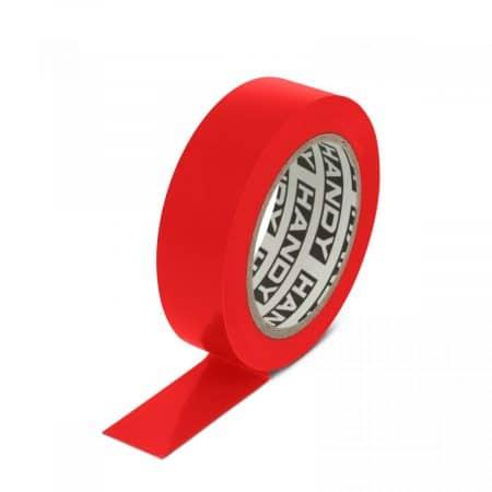 Izolacijski trak 19 mm 10 m rdeč