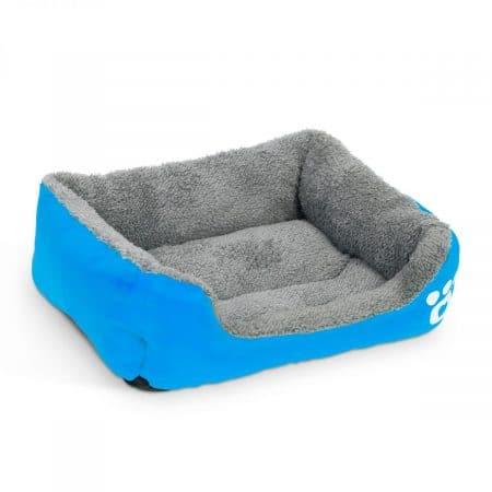 Pasja postelja - 65 x 50 cm - modra