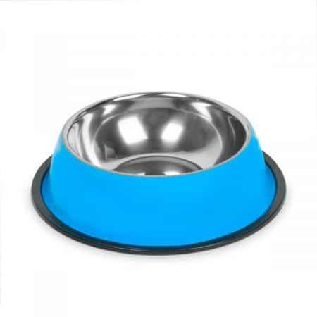 Posoda za hranjenje - 18 cm - modra