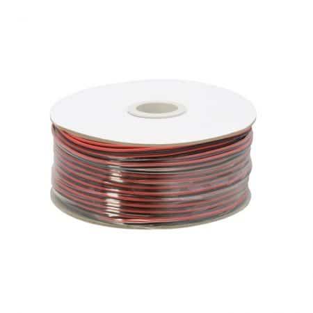 Kabel za zvočnike/LED razsvetljavo  2 x 0,50 mm² - 100 m / zvitek