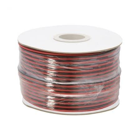 Kabel za zvočnike/LED razsvetljavo 2 x 1,00 mm² - 100 m / zvitek