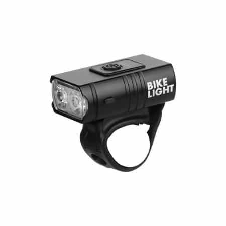 Kolesarska mini ALU LED svetilka super svetla 2 LED 10W 1200mAh USB