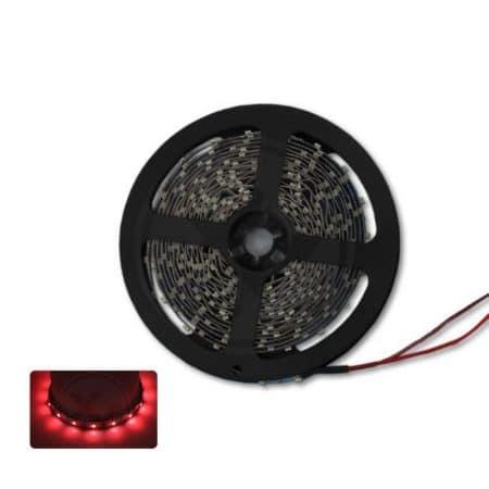 LED trak 2835 5m 300 LED/m 4,6W/m IP20 - rdeč