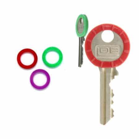 Obroček za ključe PVC 22 - 25mm več barv 100 kos/paket