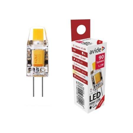 LED sijalka G4 1.2W COB 2700K