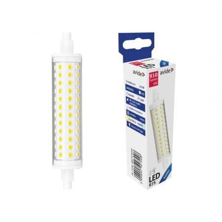 LED sijalka R7S 9W 20x118mm hladno bela 6400K