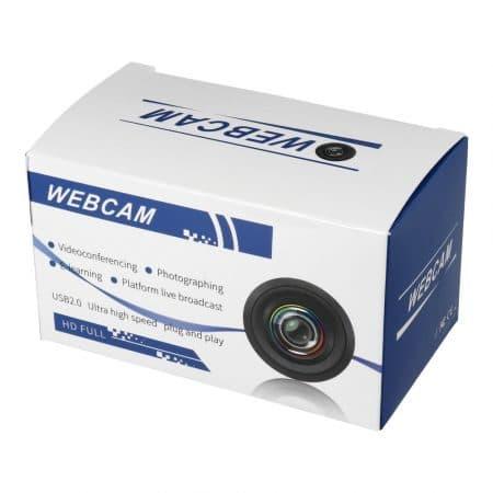 Spletna kamera z LED lučko in mikrofonom 2k