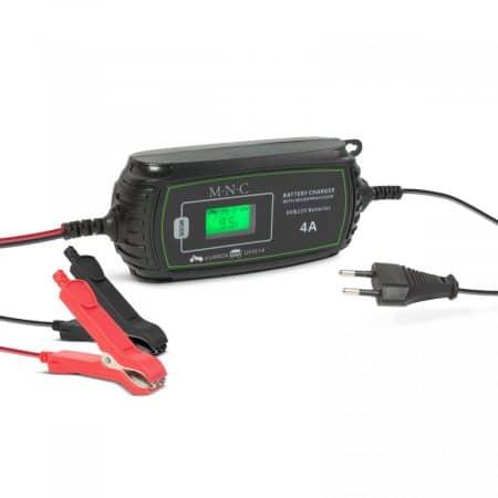 Polnilnik za avtomobilske akumulatorje - 230 V - 2 A / 4 A - samodejni