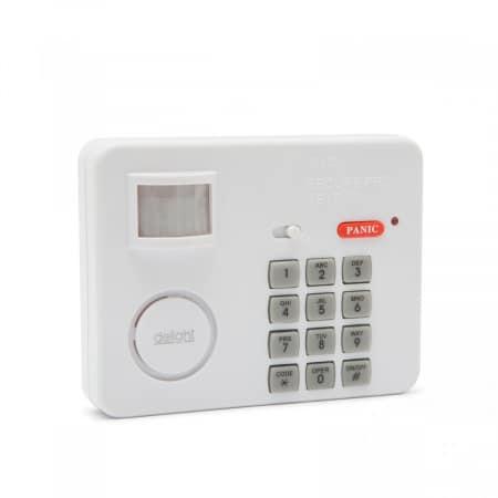 Alarm s senzorjem gibanja na PIN kodo 3 x AA