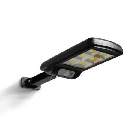 Stenska LED solarna svetilka s senzorjem gibanja 6 COB LED IP65