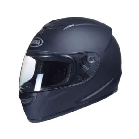 Čelada integralna za moped, skuter, motor črna mat velikost XL